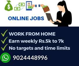 Part time / Full time jobs for everyone. Earn monthly 40,000/-