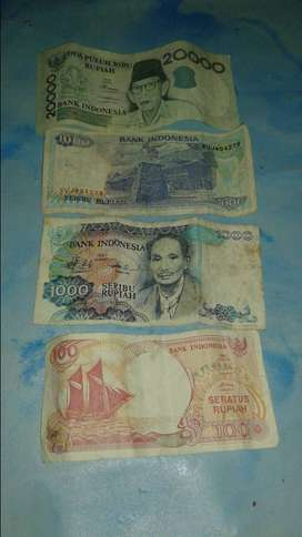 Uang kuno kertas