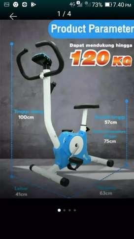 No ongkir tl 8215 bike fitnes statis belt fitnes