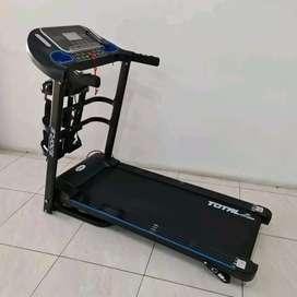 Alat fitnes@treadmill elektrik TL 619