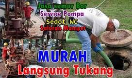 Ahli sumur Bor,Jasa sedot WC,saluran mampet,tukang servis pompa air