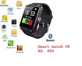 Smart watches u8, dz09 and Iphone watch A1  & Smart Bands available