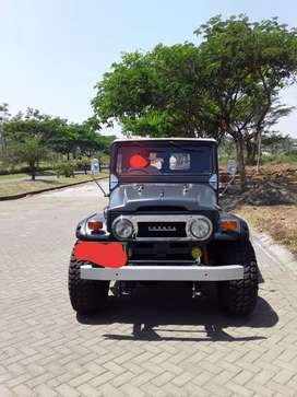 Fj40 Kanvas soft top R UC asli 1971