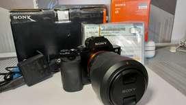 Sony A7 dan Kit Lensa 28-70 fullsett