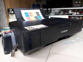 Canon Printer Tersedia Seri MP237 Lengkap Infus Full Tinta Baru