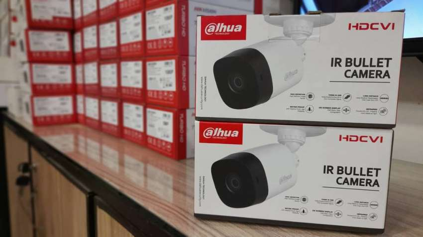 2 Cameras CCTV setup with Complete Installation throughout in Karachi. 0
