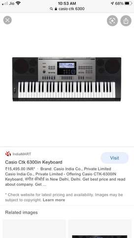 Casio ctk6300in