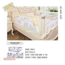 BED RAILS BABY SAFE
