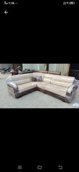 L shape sofa set new brand fectariy outlet 555