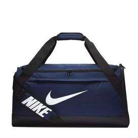 Tas Pria Nike Brasilia Duffel Bag Navy - ORIGINAL