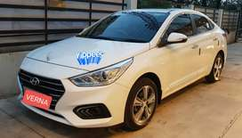 Hyundai Verna 2017 less driven in excellent condition