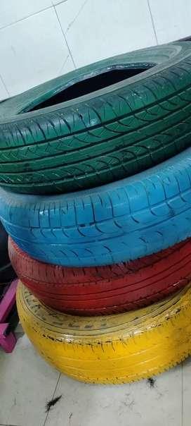 4 colour big Tyre