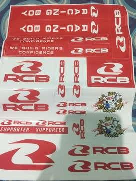 stiker RCB original