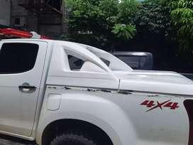 Tutup bak/cover bak model slim khusus mobil double cabin.