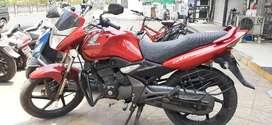 Honda CB Unicorn red colour 2018 model refinance available