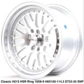 CLASSIC L215 HSR R16X8/9 H8X100-114,3 ET25/20 SMF