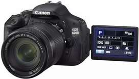 Kredit kamera Canon Eos 600D Dp Murah Gratis 1X Cicilan