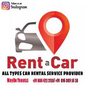 Car rental service,  travels