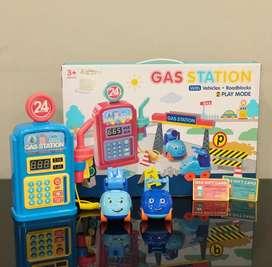 Mainan mesin pom bensin