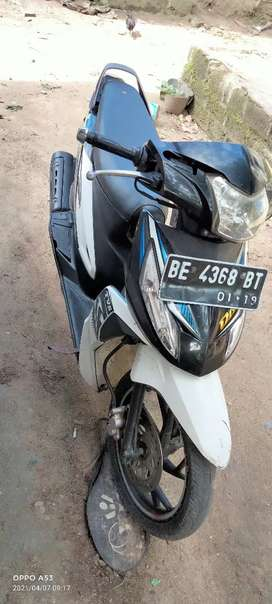 Tvs dass metic kengkap plat be