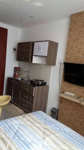 For Rent Studio Apartemen Saladin Mansion FULLY FURNISHED Lux Depok
