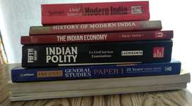 2nd hand UPSC civil services Books
