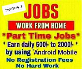 Earn lots of money from part time job