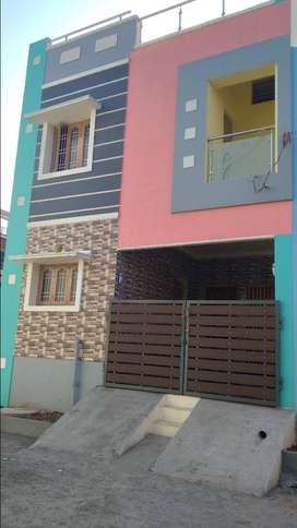3 bhk duplex house for sale in kovur - 75 lakhs
