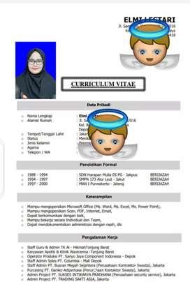 Cari kerja Administrasi