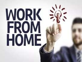 Simply hand writing  home base job weekly 13000/-