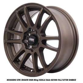 harga velg hsr wheel - noshiro 57e hsr ring 15 city fiesta genio march