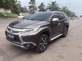 Pajero Dakar limited  2.4 a/t warna dark brown