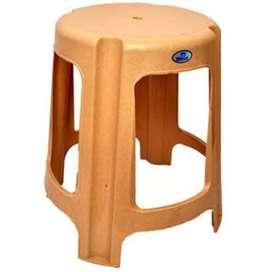 Plastic stools, chair, furniture
