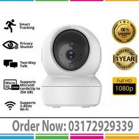 WIFI Mini PTZ Camera, Auto Tracking, 2 Way Talk (1 Year Warranty)