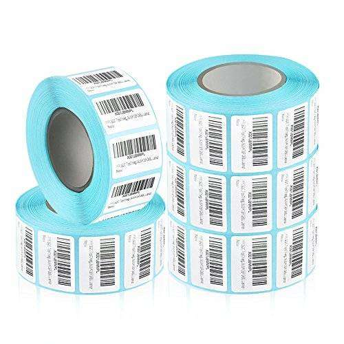 BAR CODE Sticker Labels TTL DTL Ribbon Carbon Resin Film