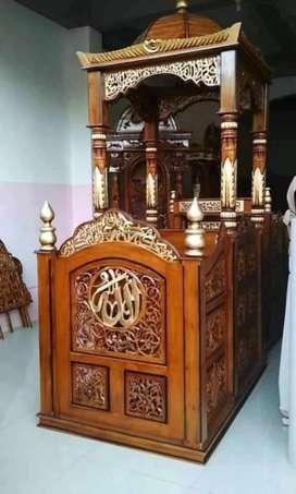 mimbar masjid kubah laku 115