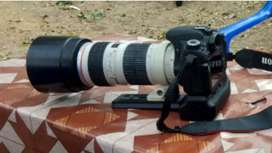 Kamera canon 8000d+lensa usm 70-200