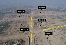 1 Kanal Plot For sale in A Block Lda City Lahore