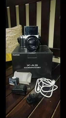 Fujifilm xa3 lensa kit