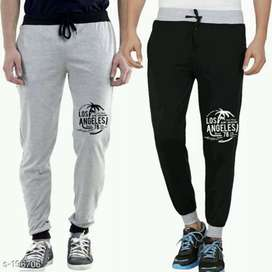 Men's Cotton Track Pants Pack of 2 (CASH ON DELIVERY+FREE DELIVERY)