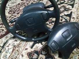 RS steering wheel with key switche for sale