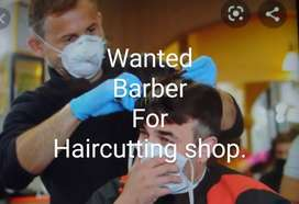 Barber for Hair cutting shop
