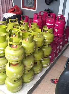 Tabung Gas 3 Kg LPG/Elpiji/Melon SNI.