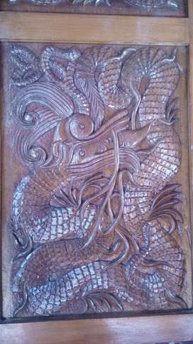 Special wooden carving