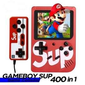 GAME BOY 2 PLAYER RETRO MINI 400 IN 1 SUP GAME BOX PORTABLE GAME BOY