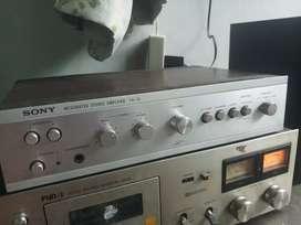Amplifier sony ta73