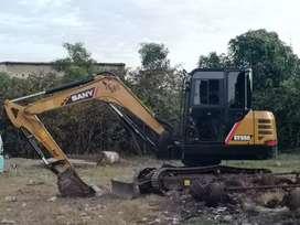 Rental alat berat Excavator (sany sy55, sy215, bomag, dll)