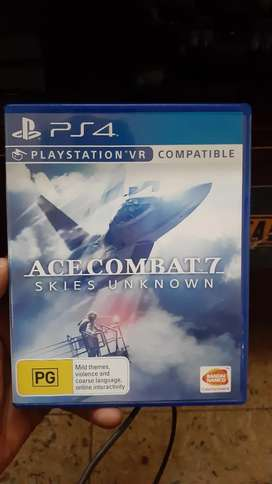 Ace combat 7 skies unknown with vr compatible