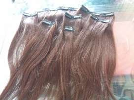 Hair Extensions Stock Available 6 D Clip On