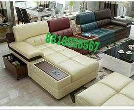 Multicoloured sofa set
